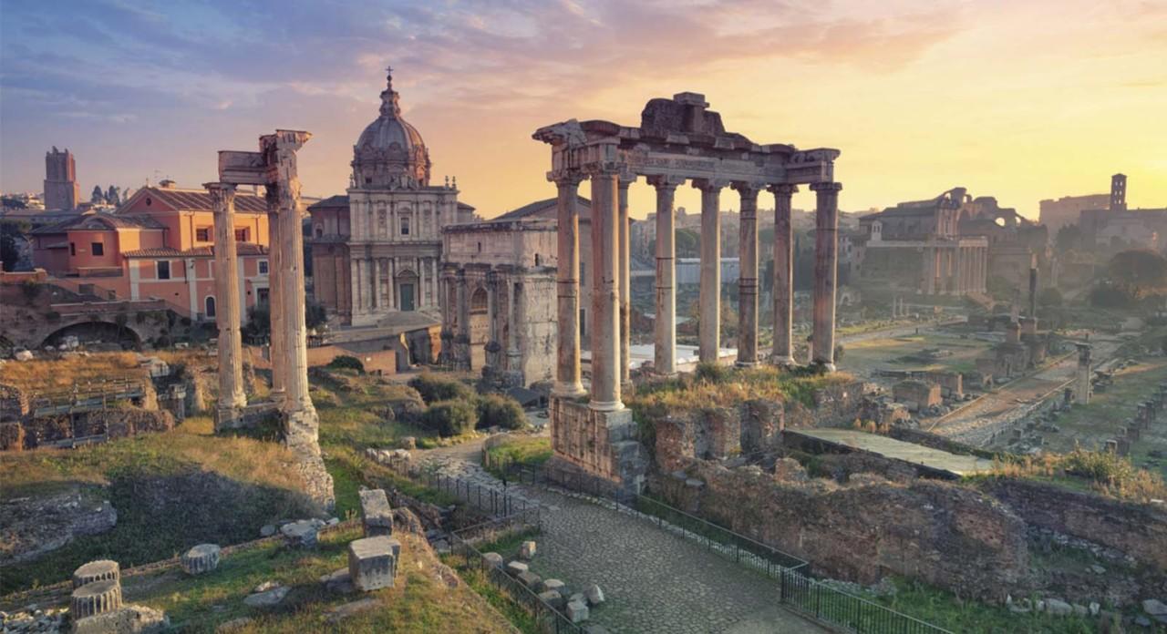 Rutas en Roma