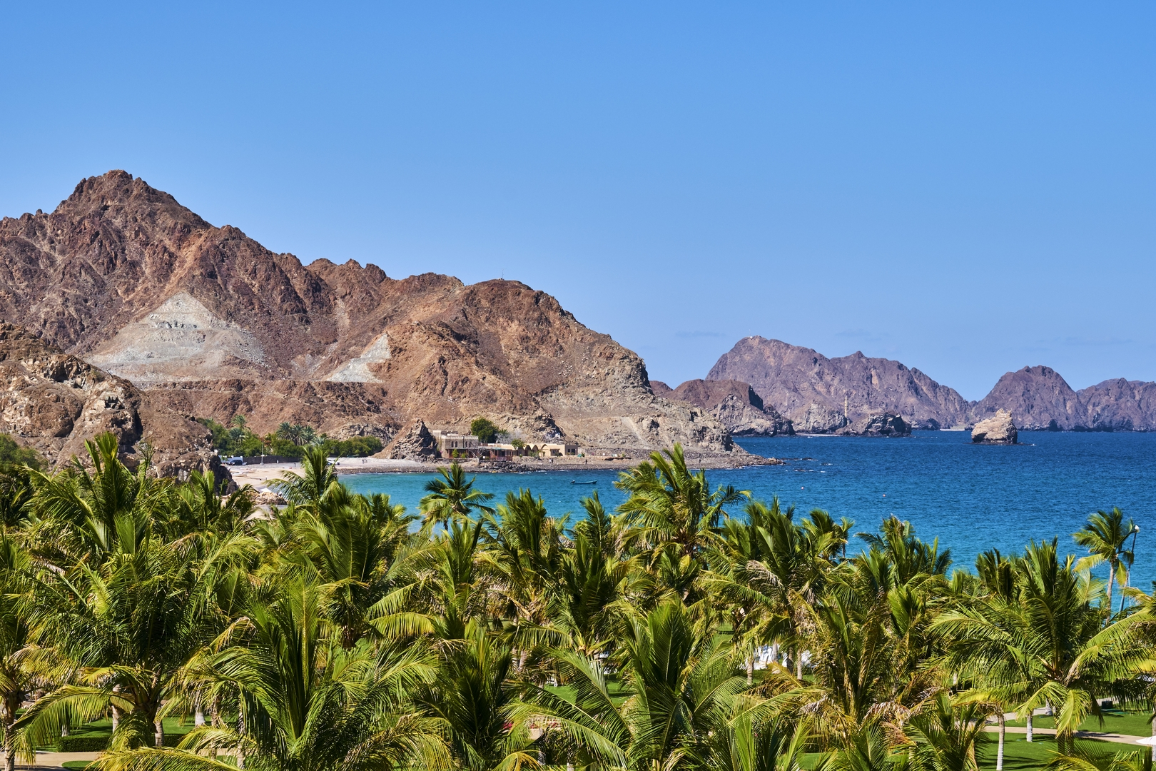 Sultanat of Oman, Gulf of Oman, Mascat, Al Bustan beach