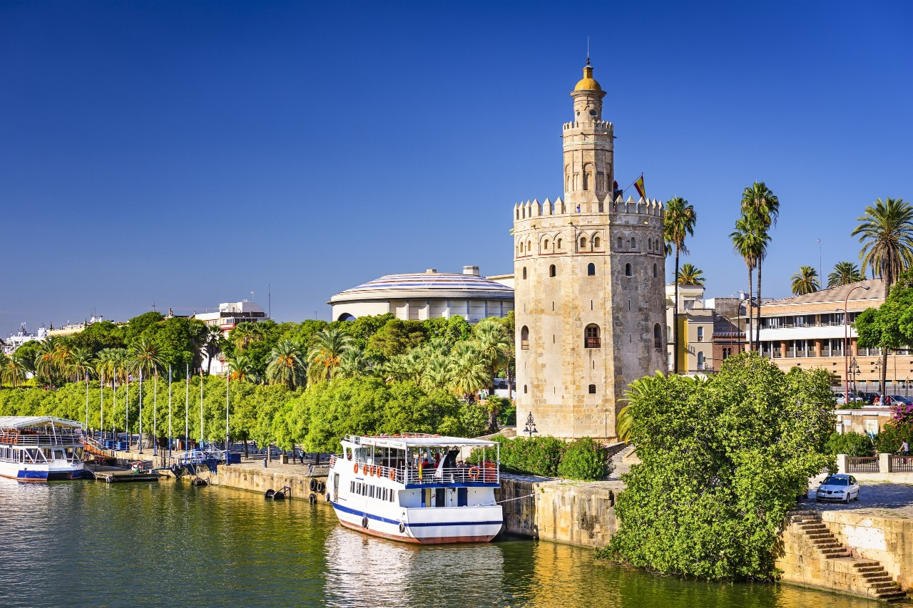 Torre del Oro in Seville, Spain.