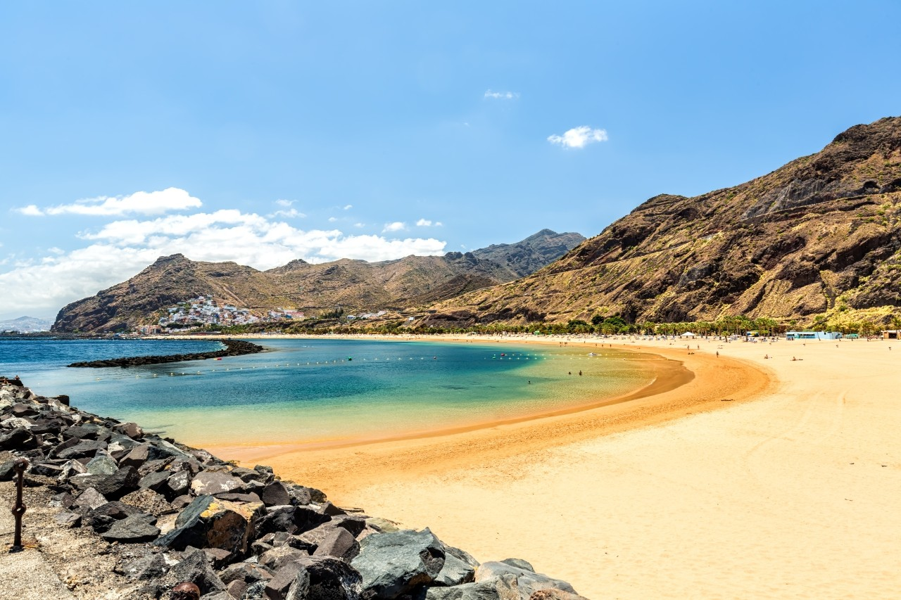 Playa de Las Teresitas in Tenerife / Canary Islands
