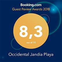 Guest Review Awards 2018 - Booking.com - Occidental Jandia Playa