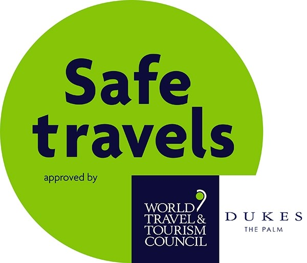 WTTC Safe travel Seal white